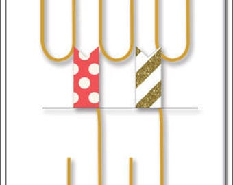 SALE Me & my big ideas Happy Planner paper clips with flags