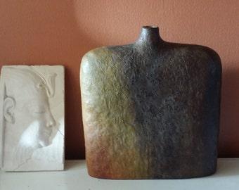 Minimalist, Marcello Fantoni 1950s Vase, Minimalist Vase, Raymor, Italian Fine Art Pottery, Italian Pottery