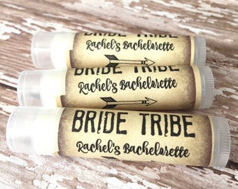 Bachelorette Party Favors - Bride Tribe - Chapstick - Wedding Party Favors - Bridal Party - Bachelorette - Lip Balm - Hangover Kit - Hen