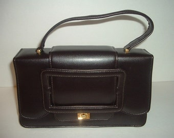 Vintage La Regale Brown Handbag