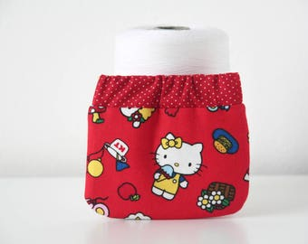 Sweet Red Classic Hello Kitty Flex Frame Coin Purse //Girls Wallet//Gift for kids