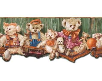 Bears b50031 Wallpaper Border