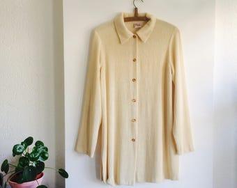 Vintage trui jurk | sweaterdress| vintage sweaterdress | Vintage blouse| Vintage dress size M | vintage sweater