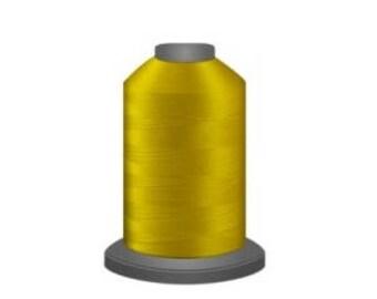Glide - Polyester Thread - Fil-Tec - 40 wt - 1100 yds - Bright Yellow