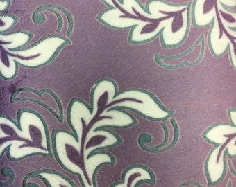 Shannon Cuddle Down Minky Embossed Mar Bella Madrid  DR 126893 Half Yard Cut and Yardage Available