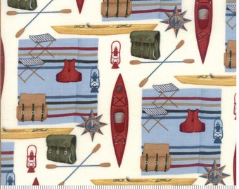 RIVER JOURNEY by Holly Taylor for Moda Camping Fabrics 6681 16