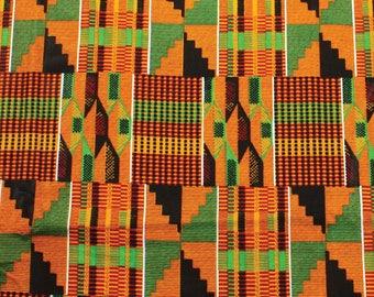Kente Cloth Fabric three yards.