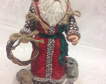 Music Box-Father Christmas and Friends