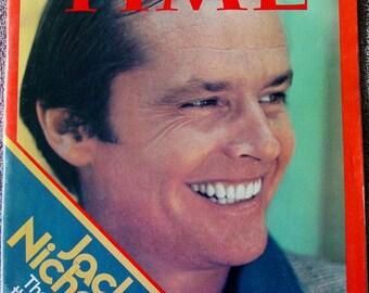 JACK NICHOLSON Time Magazine August 12, 1974