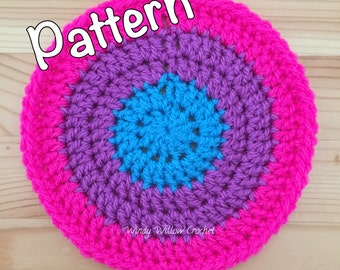 Crocheted Round Coasters