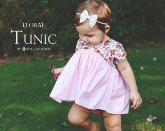 Baby Floral Top, Tunic