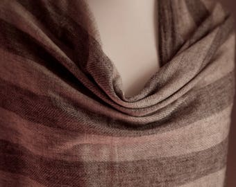 Natural Organic Cashmere Shawl/Gift for her