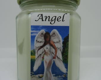 Angel ~ Soy Wax Jar Candle **Best Seller**