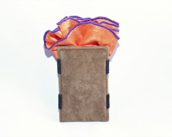 The OSK Styles Pocket Square Holder! Keeps your handkerchief In place all day long!