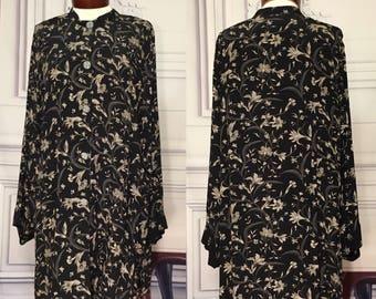 CAROLE LITTLE floral print tunic top 16