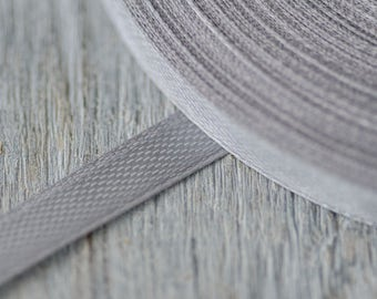 Grey 6mm Ribbon Craft Supply Thin Satin Ribbon Wedding Floral Arranging Bouquet Ribbon Decorative Ribbon Gift Wrapping Light Grey Ribbons