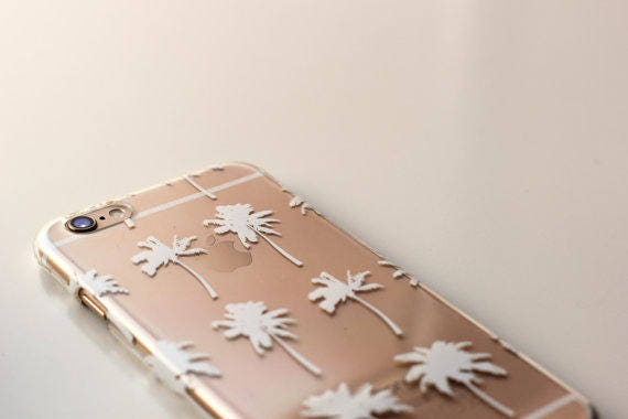 FUNDA MÓVIL PALMERAS, Iphone 6 phone case, Iphone 6S phone case, carcasa palmeras, palms phone case, funda movil palmeras, palms cover case