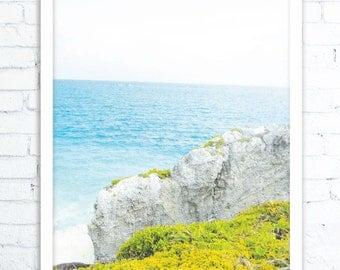 Tropical Wall Art, Ocean Print,Beach Decor, Beach Art,  Ocean Decor, Landscape Print, Landscape Art, Nursery Decor, , Beach Wall Art, Print