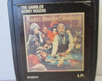 Vintage The Gambler Kenny Rogers 1978 8 Track