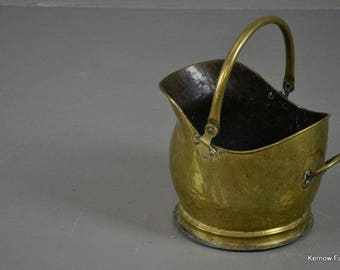Brass Coal Helmet