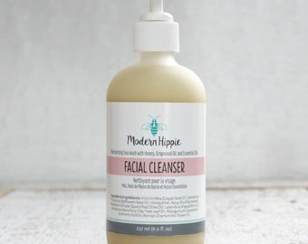 Facial Cleanser for Acne Prone and Sensitive Skin