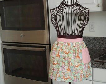 Girls Easter half apron