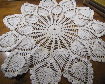 Chair Back Doily Etsy