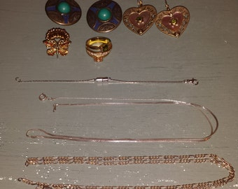 Scrap jewelry to use in your own creations