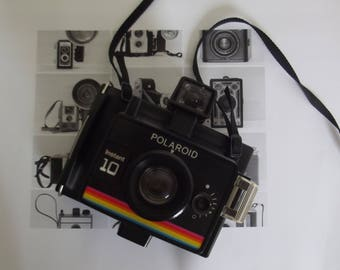 Polaroid instant 10 camera, Polaroid land camera, vintage camera
