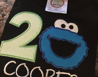 Made to order Cookie Monster shirt