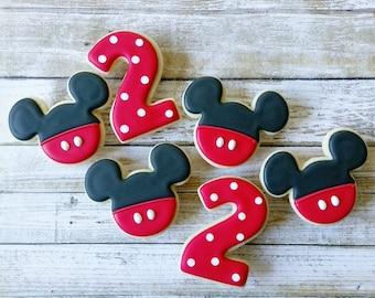 Mickey Inspired Sugar Cookies(12)