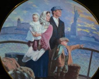 Ellis Island Collectors Plate