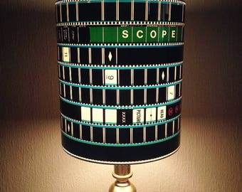 Recycled 35mm Film Strip Lamp Shade
