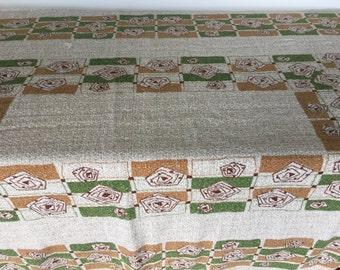 "Table Cloth 54"" X 34"" - Mid Century Modern - Geometric"