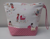Dolly Playtime Large Project Pouch