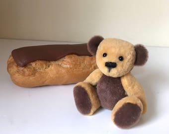 """Ooak Miniature Artist Bear """"Eclair"""""""