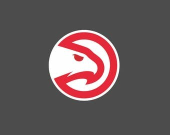 Full Color Atlanta Hawks - Die Cut Decal/Sticker