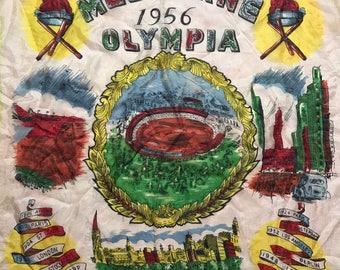 RARE 50s Olympia Scarf