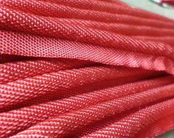 Vintage French Cotton Unused, new, Red Piping 5 m (16.4 feet).