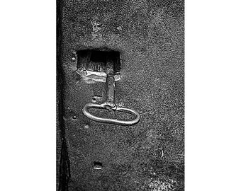 lock photograph, rustic urban Art, key Picture, door wall art, Industrial modern Photography, manly decor, gift for him, photo for office