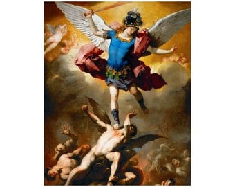 St Michael the Archangel 13 Poster