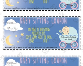 DIGITAL ONLY: Babysitting Coupon