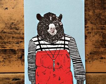 Notebook - Viggo the Bear- A6