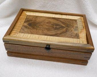 walnut keepsake box#280
