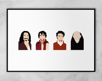 What We Do In The Shadows | Minimal Artwork Poster