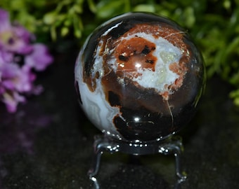 Multicolor Agate Sphere 54 MM, Agate Sphere