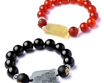 50% SALE- DIY Snake Zodiac Mascot Couple Bracelet-WEN542699802613-GVN