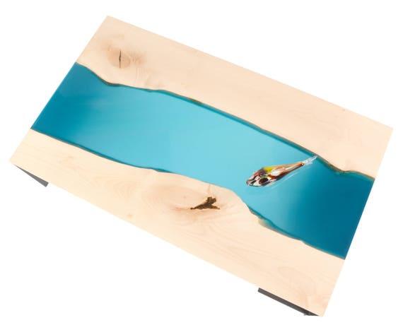decorative coffee table // modern furniture resin coffee table
