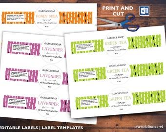 Super Modèle détiquette ronde étiquette de produits cosmétiques BP32