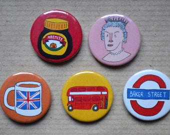 A Perfectly British Badge Pack